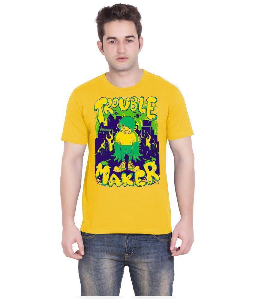 Tantra Yellow Round T Shirt