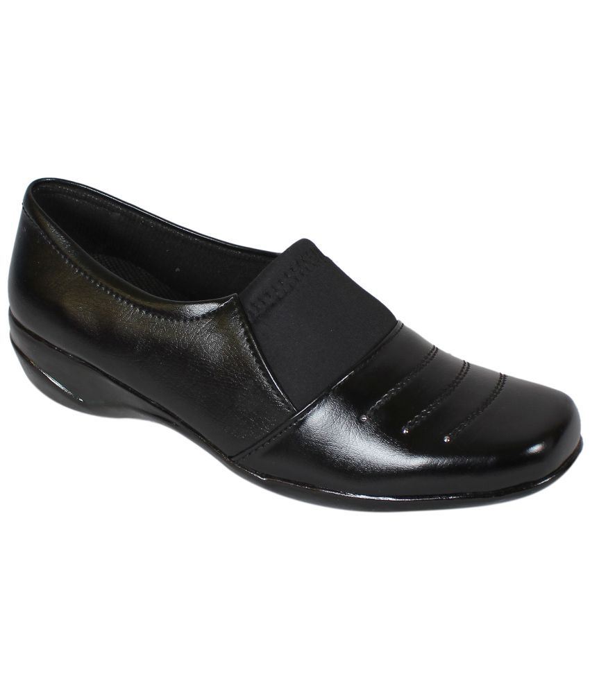9space Black Formal Shoes