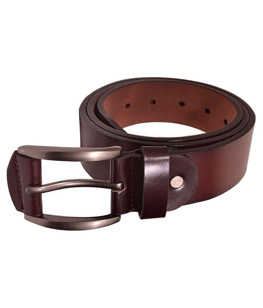 Elligator Brown Casual Belt For Men