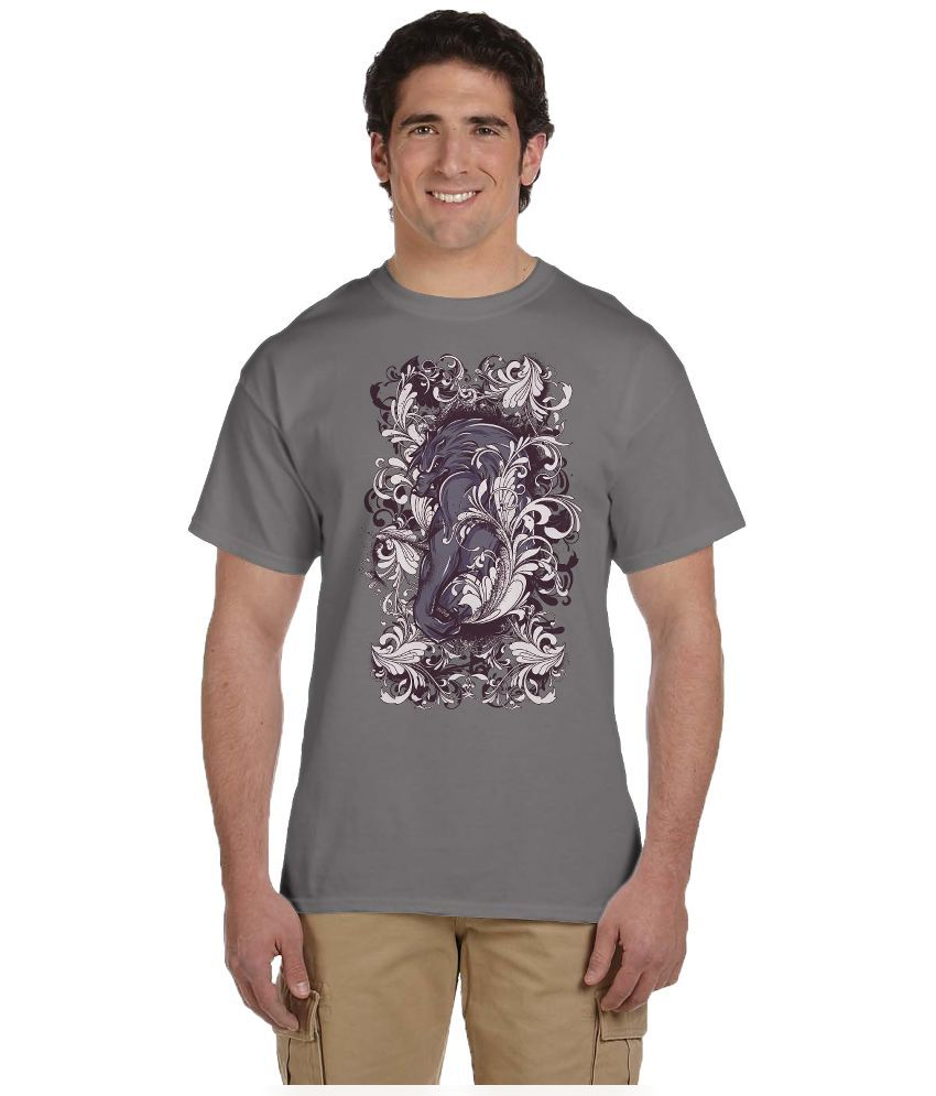 Haunting Dragons Grey Round T Shirt Pack of 2