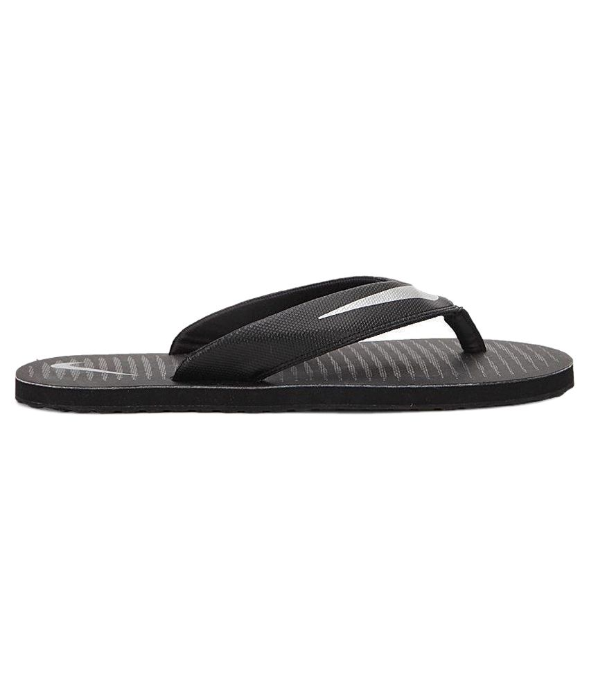 0093cf77f109 Nike Black Flip Flops Price in India- Buy Nike Black Flip Flops ...