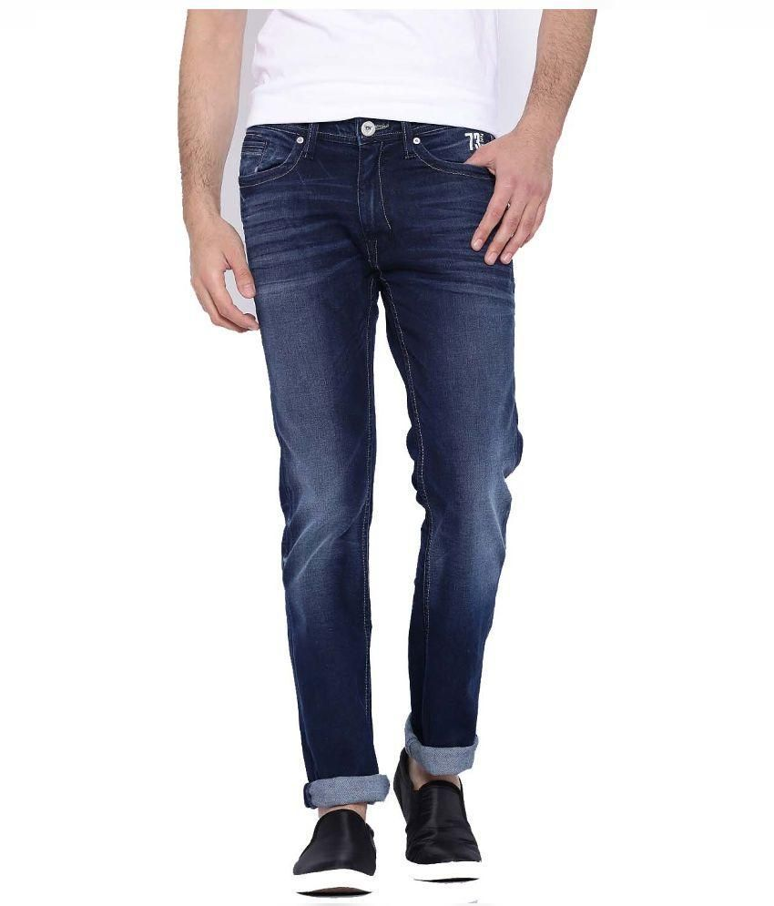 Pepe Jeans Blue Slim Fit Faded Jeans