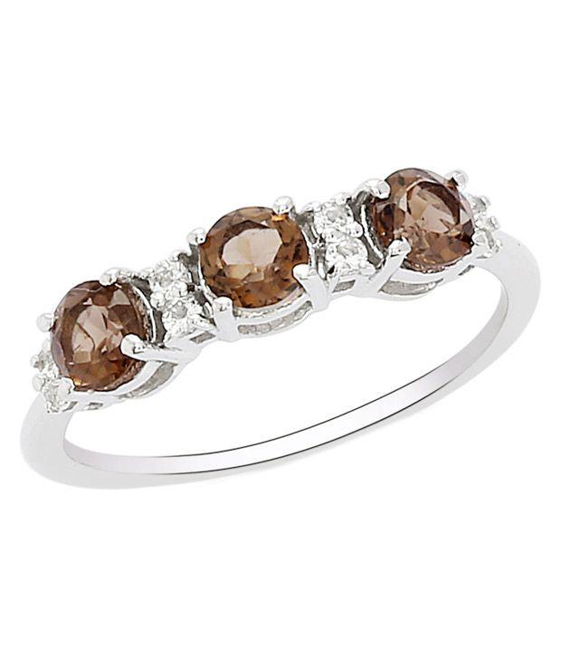 Shine Jewel Silver Ring