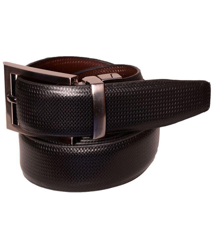 Toss Up Multicolour Leather Reversible Belt for Men