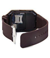 ROOQ Brown Digital Smartwatch