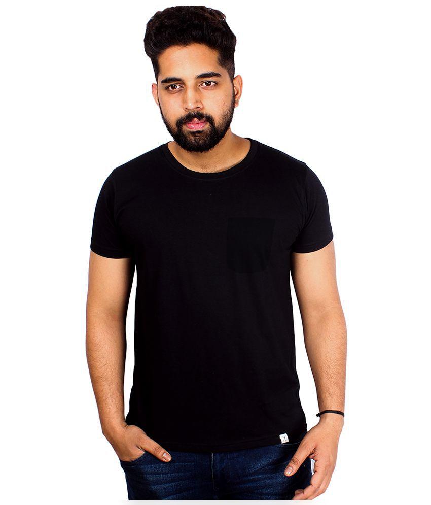 Arcanumz Black Round T Shirt