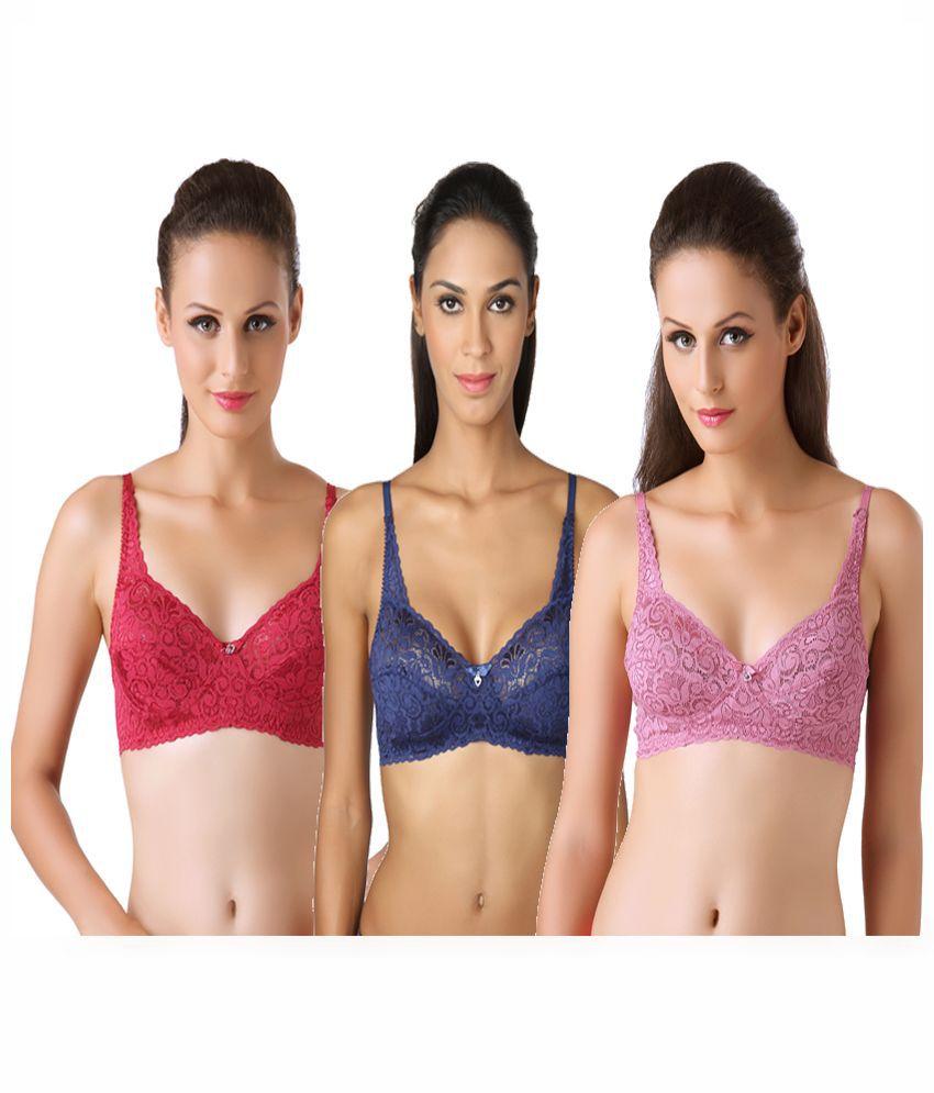 Bodyline Multi Color Lace Bra