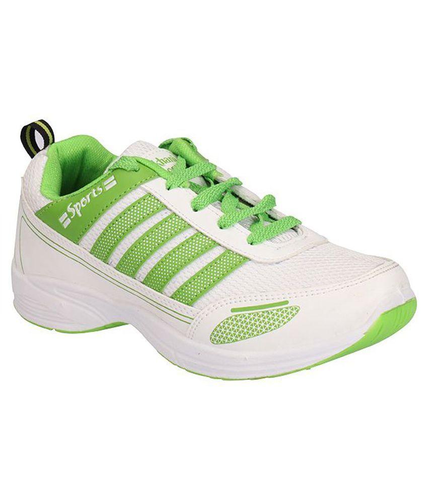 Lakhani White Running Shoes