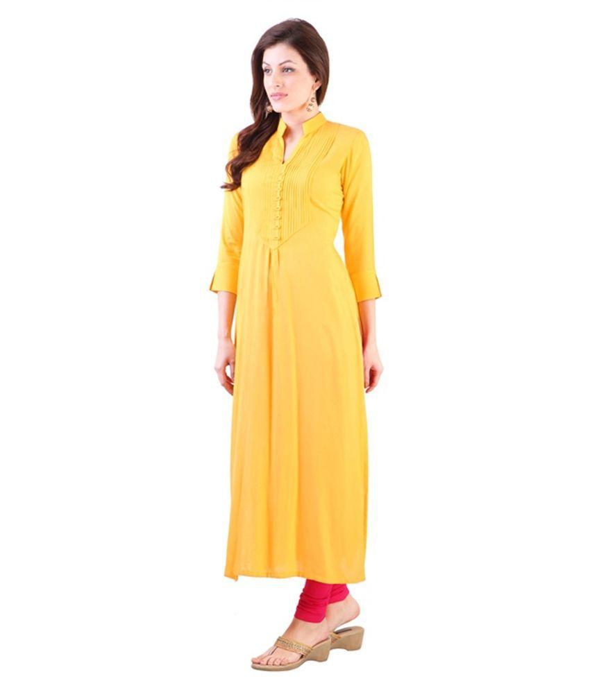 Cotton A-Line Dress
