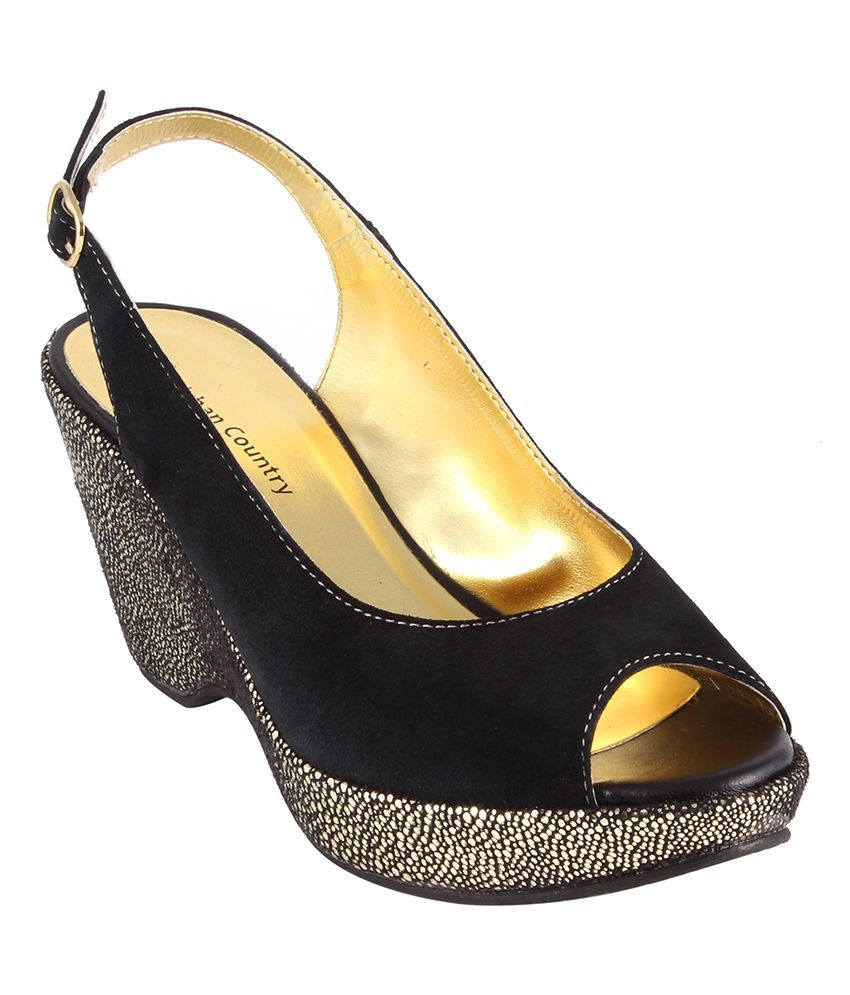 Urban Country Black Flats