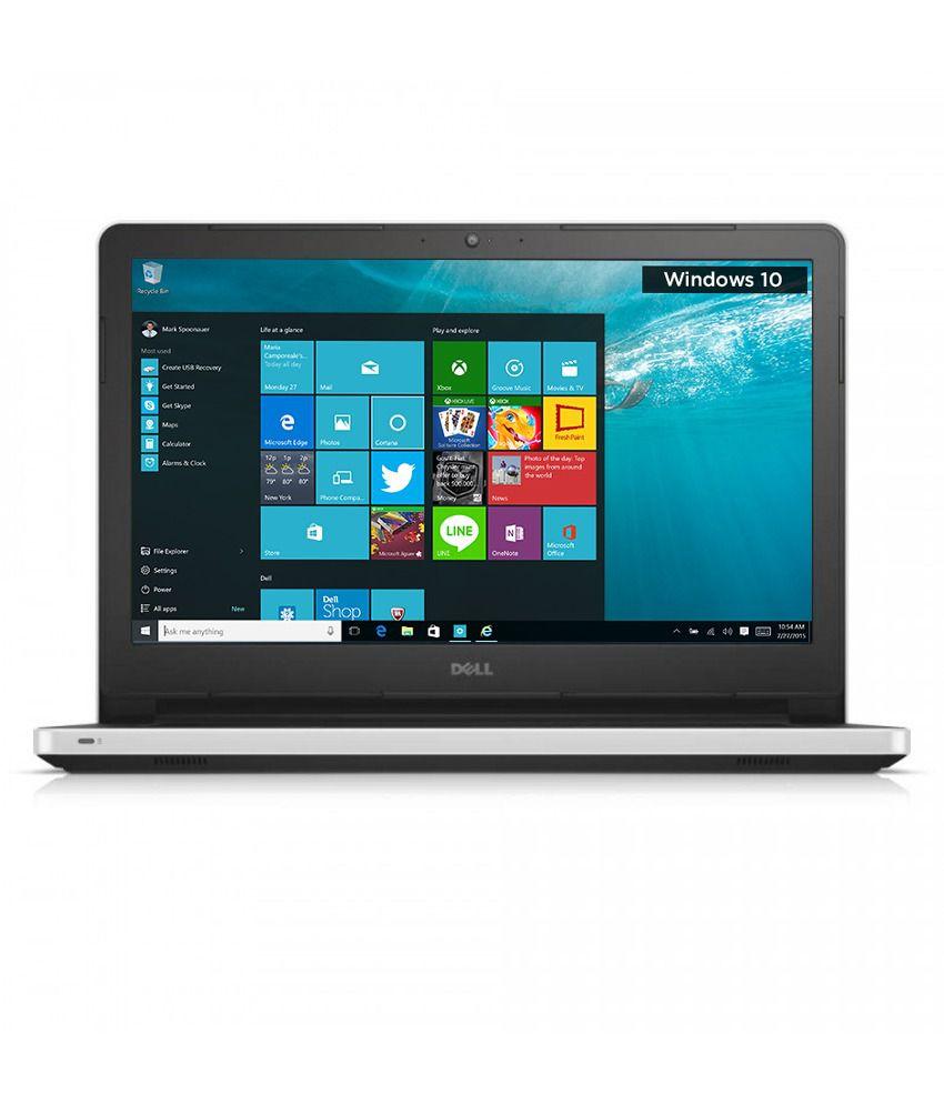 Dell Inspiron 5459 Notebook (Y566501HIN9) (6th Gen Intel Core i5- 4GB RAM- 1TB HDD- 35.56 cm (14)- Windows 10) (Silver)