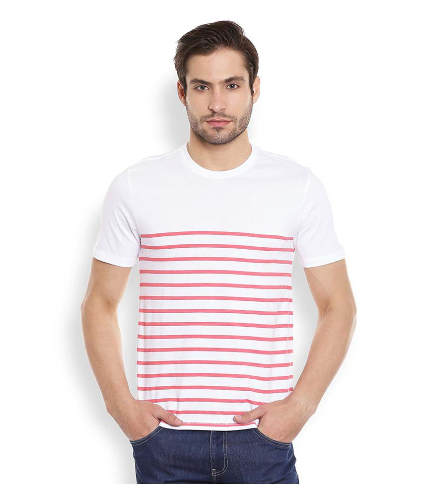 Henry and Smith White Round T Shirt