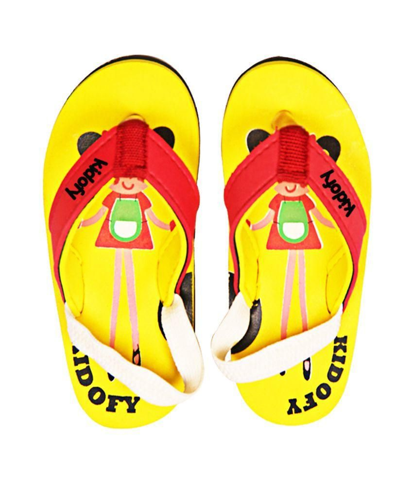 Kidofy Yellow Flip Flop sale wiki OWktRZddZ