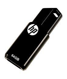 HP V150W 64 GB Pen Drives Black