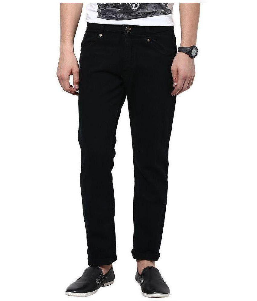 Fashion Deck Black Slim Solid