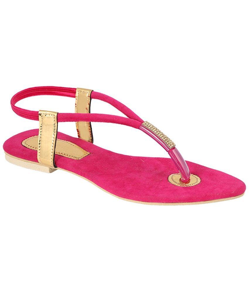 Ala Mode Pink Flats