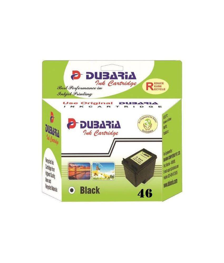 Hp Tinta Printer 46 Black Daftar Harga Terlengkap Indonesia Colour Original Dubaria Ink Cartridge Compatible For