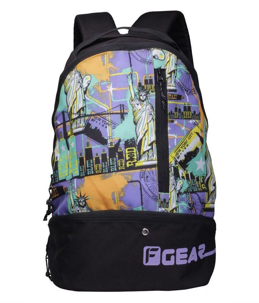 F Gear Shock Multi Color 21.6 Gym Bag
