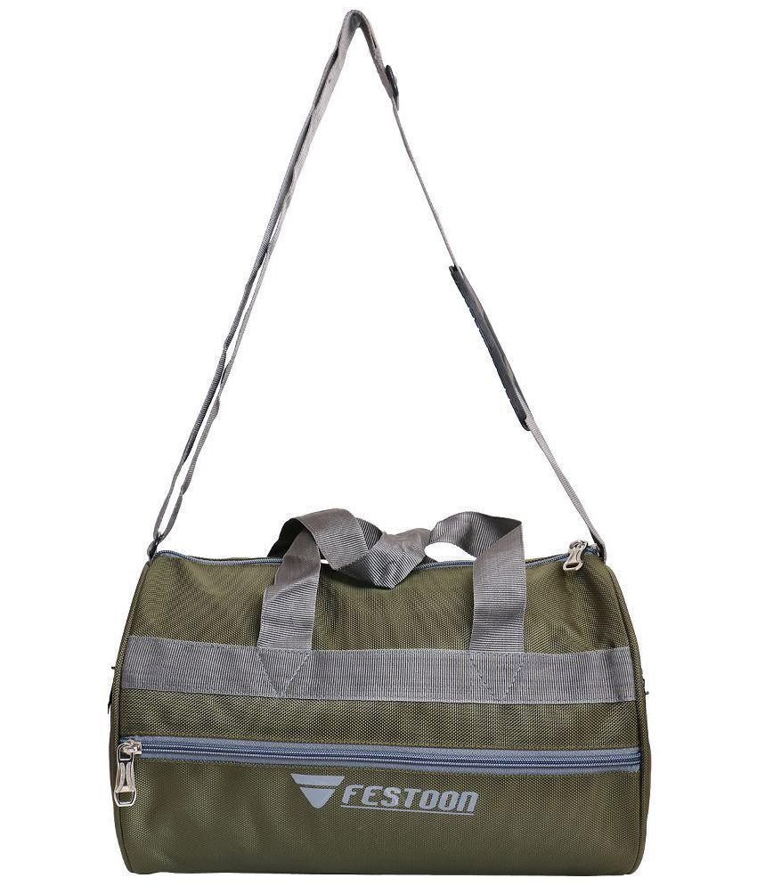 Festoon Green Gym Bag