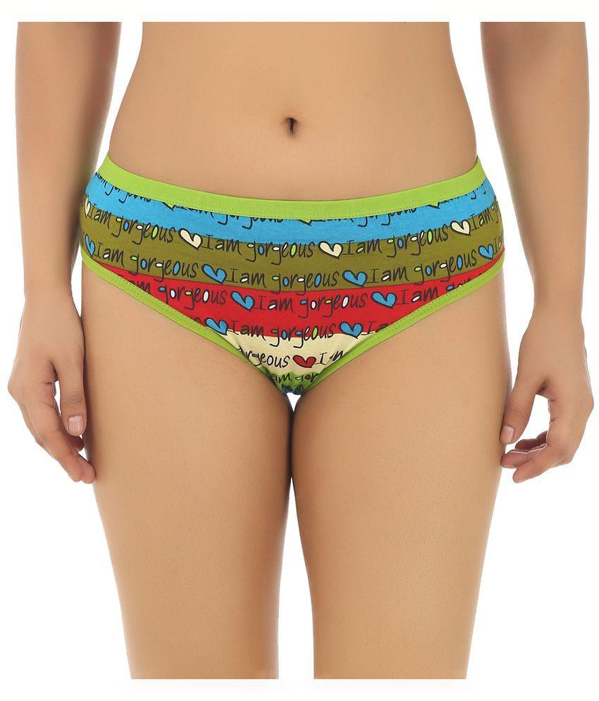 Gujarish Multi Color Cotton Panties