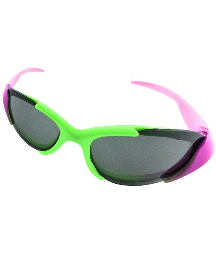 6bdd0ef4918a Buy Polo House USA Black Wrap Around Sunglasses ( Bright ) at Best Prices  in India - Snapdeal