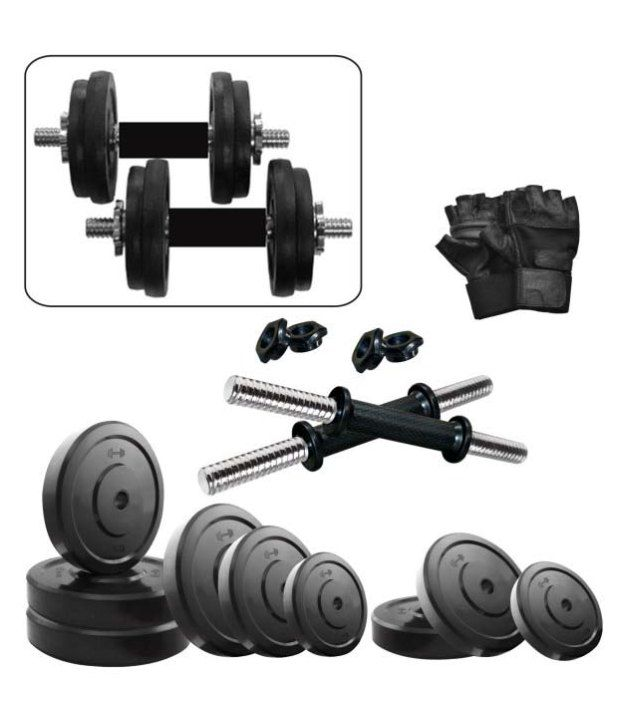 Fitzon 20 Kg DM Combo 3-WB Home Gym By Snapdeal @ Rs.1,878