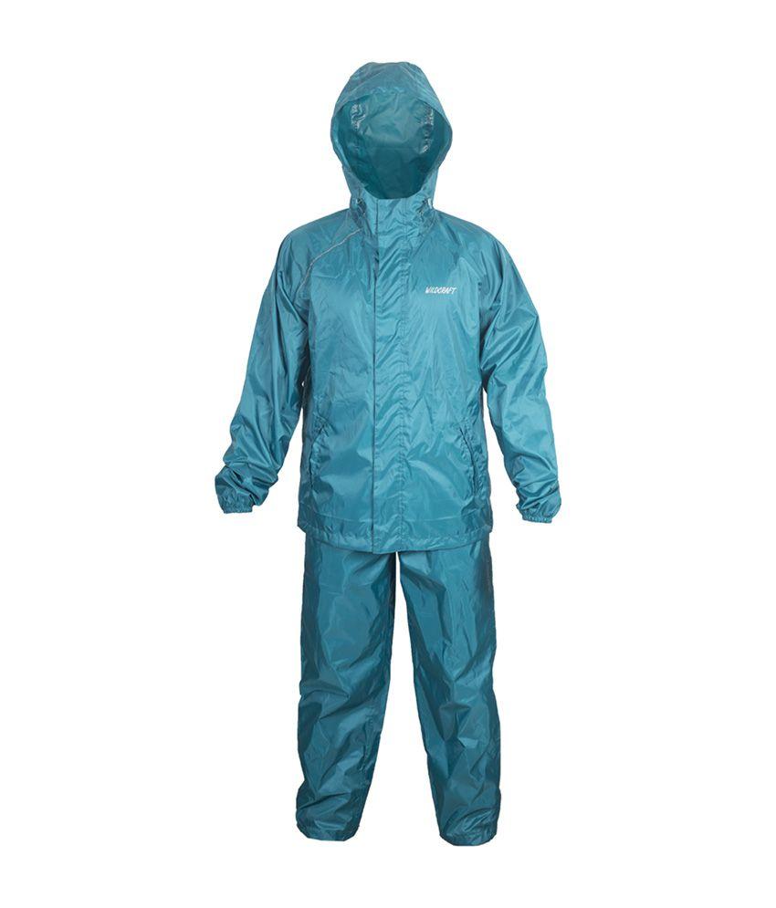 Wildcraft Basic Plus Rain Suit - Deep Blue