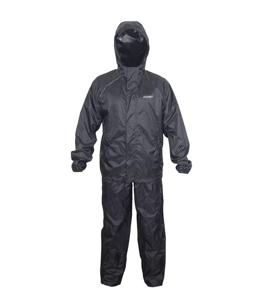 Wildcraft Basic Plus Rain Suit - Anthracite
