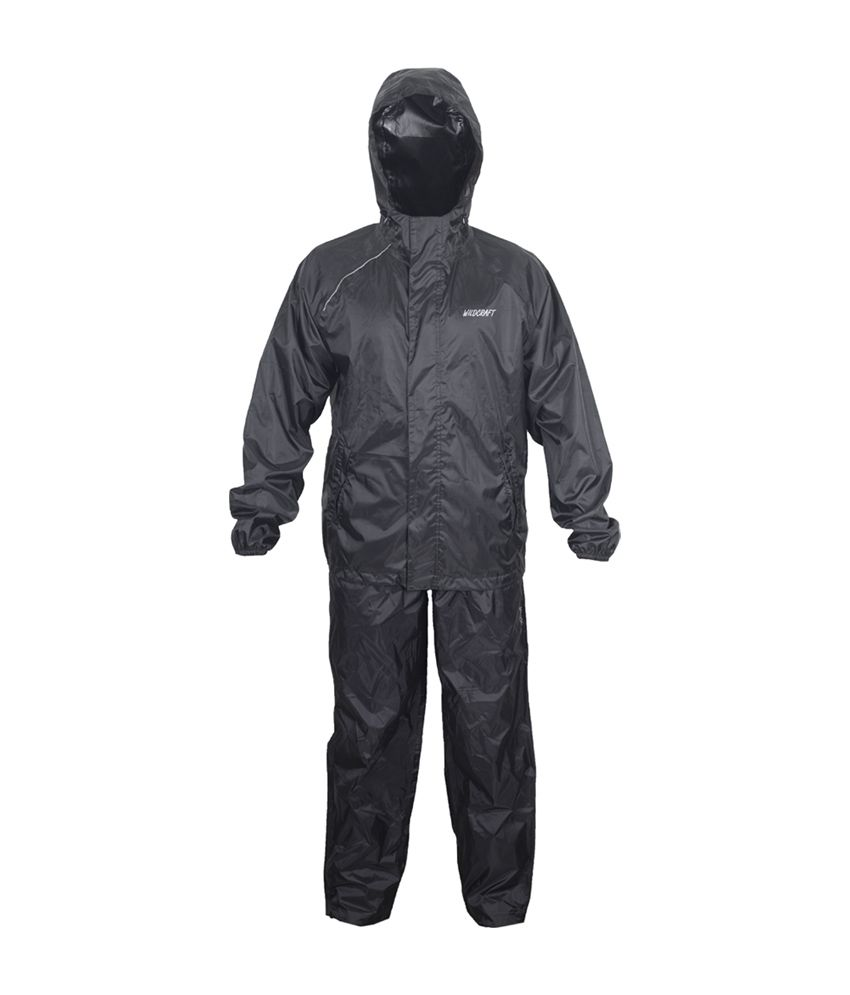 Wildcraft Basic Plus Rain Suit - Anthracite