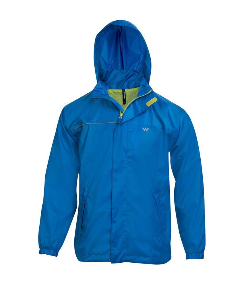 Wildcraft Blue Rain Jacket