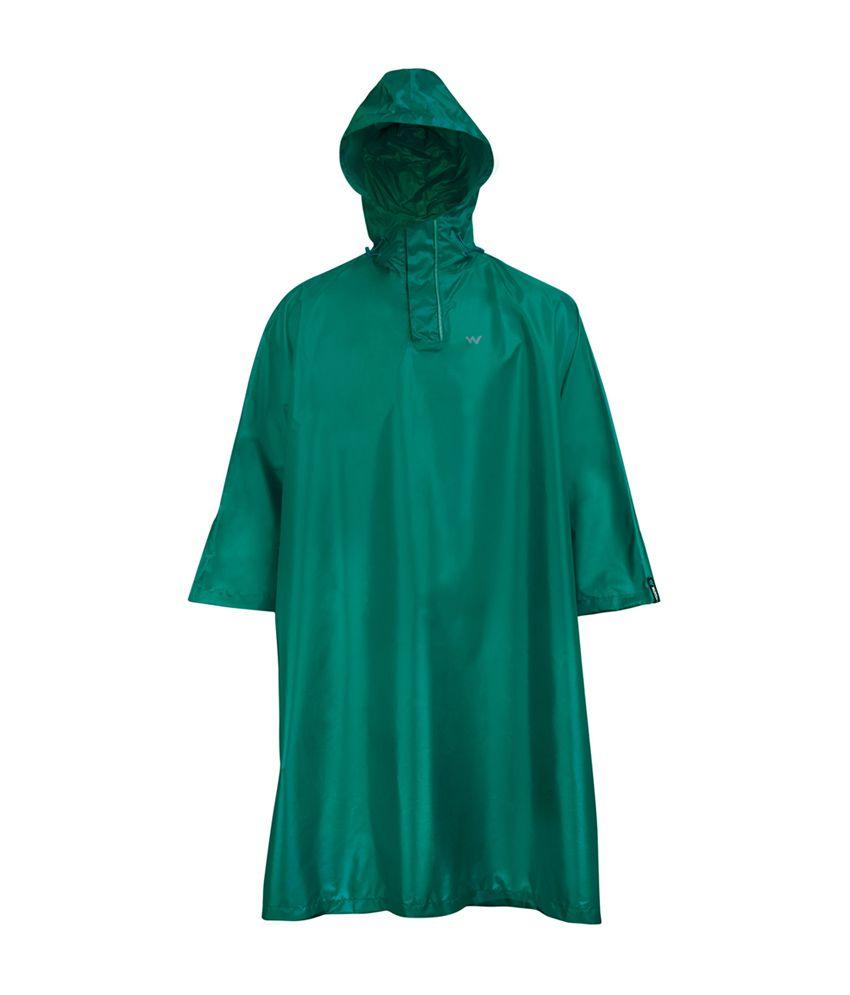 Wildcraft Green Rain Poncho