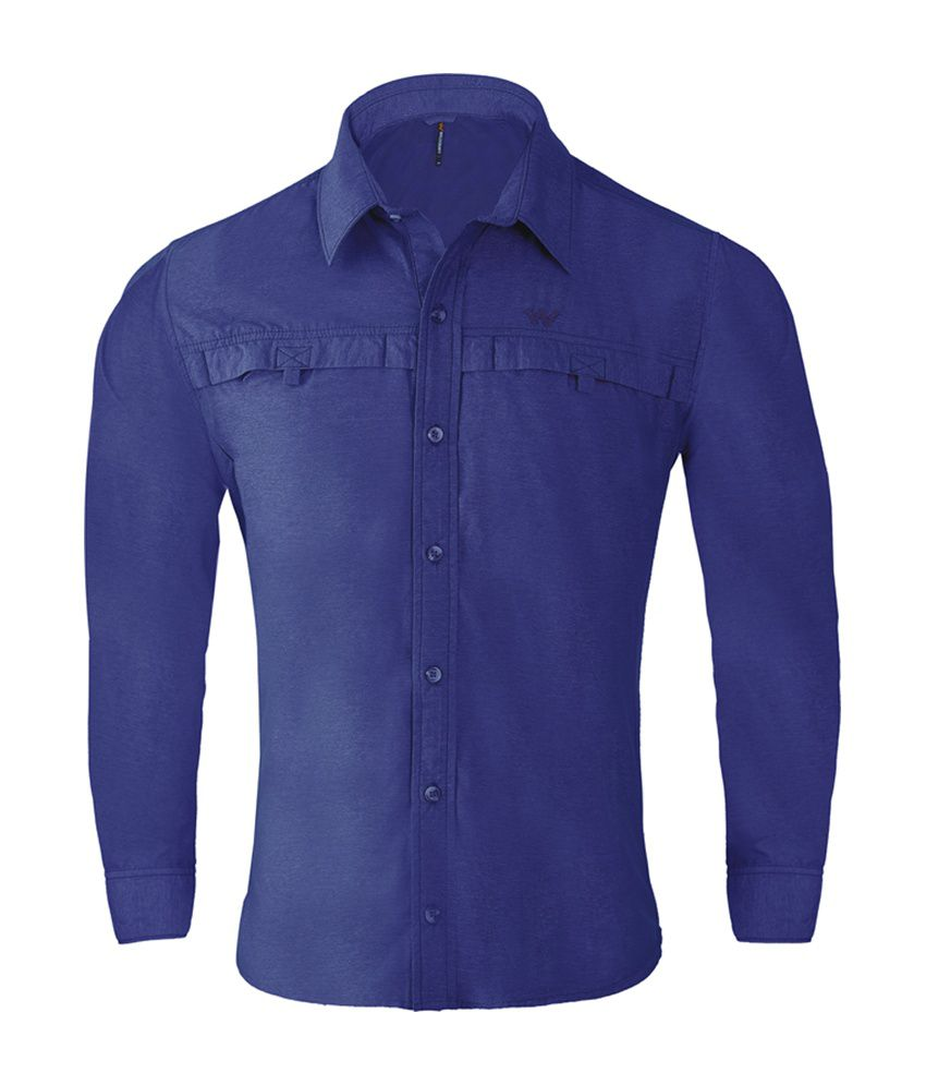 Wildcraft Men's Hiking Shirt - Blue