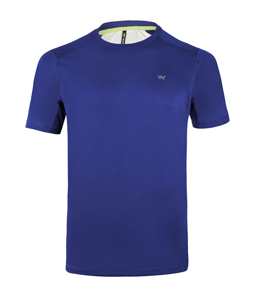 Wildcraft Men's Hiking T-Shirt - Blue