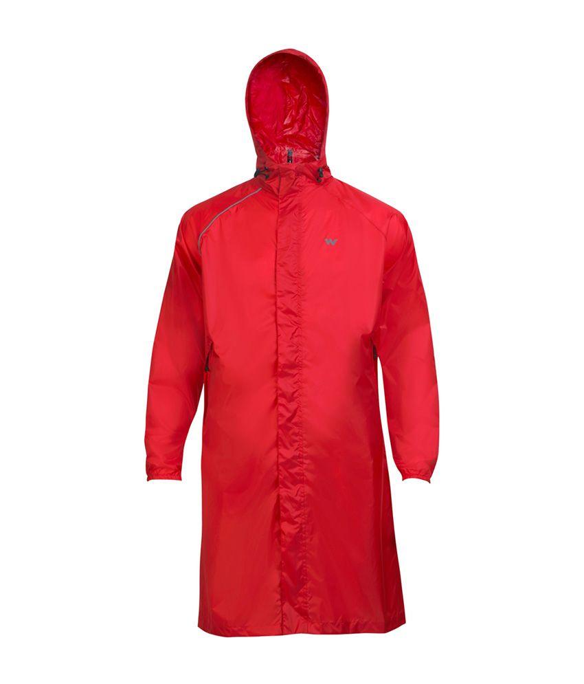 Wildcraft Red Rain Coat