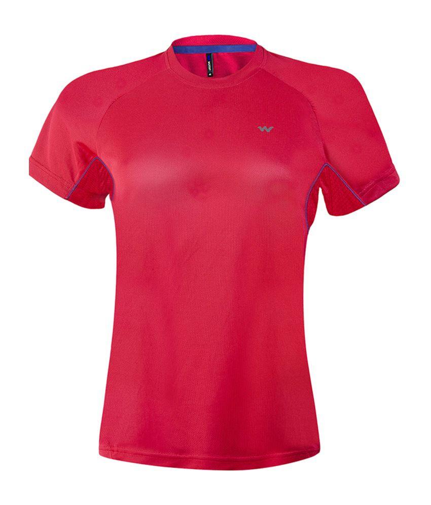 Wildcraft Women's Hiking T-Shirt - Red