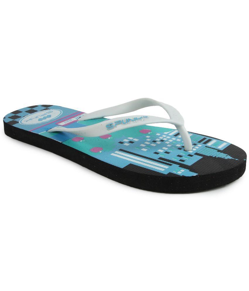 Spunk White Flip Flops