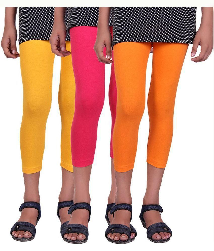 Alisha Multicolour Capri - Pack of 3
