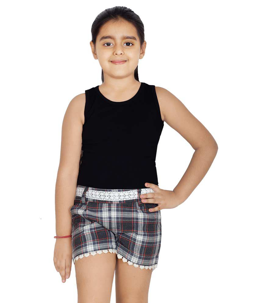 Naughty Ninos Multicolour Cotton Shorts