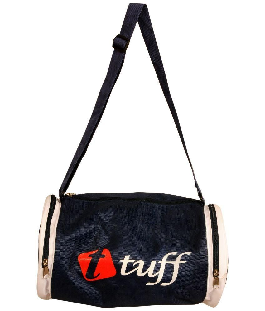 Tuff Black Gym Bag