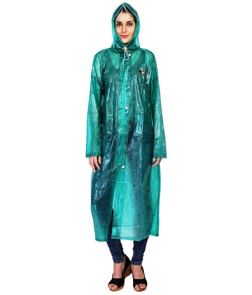 Zeel Green Raincoat Set