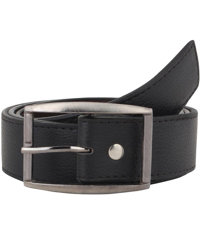 Havello Black Leather Belt
