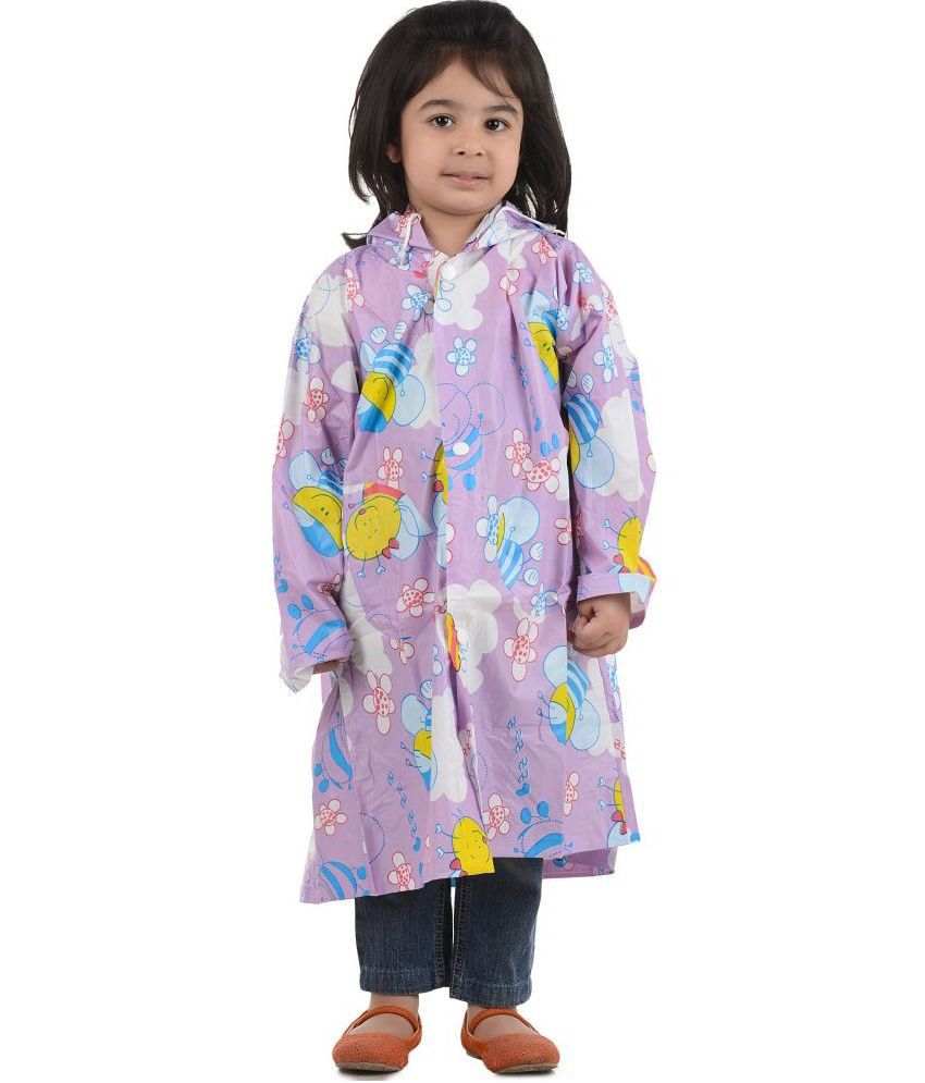 Inside Fashion Multicolor Rainwear For Girls