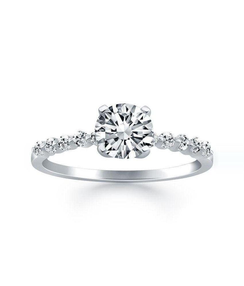 Kiara Jewellery 92.5 Sterling Silver Ring