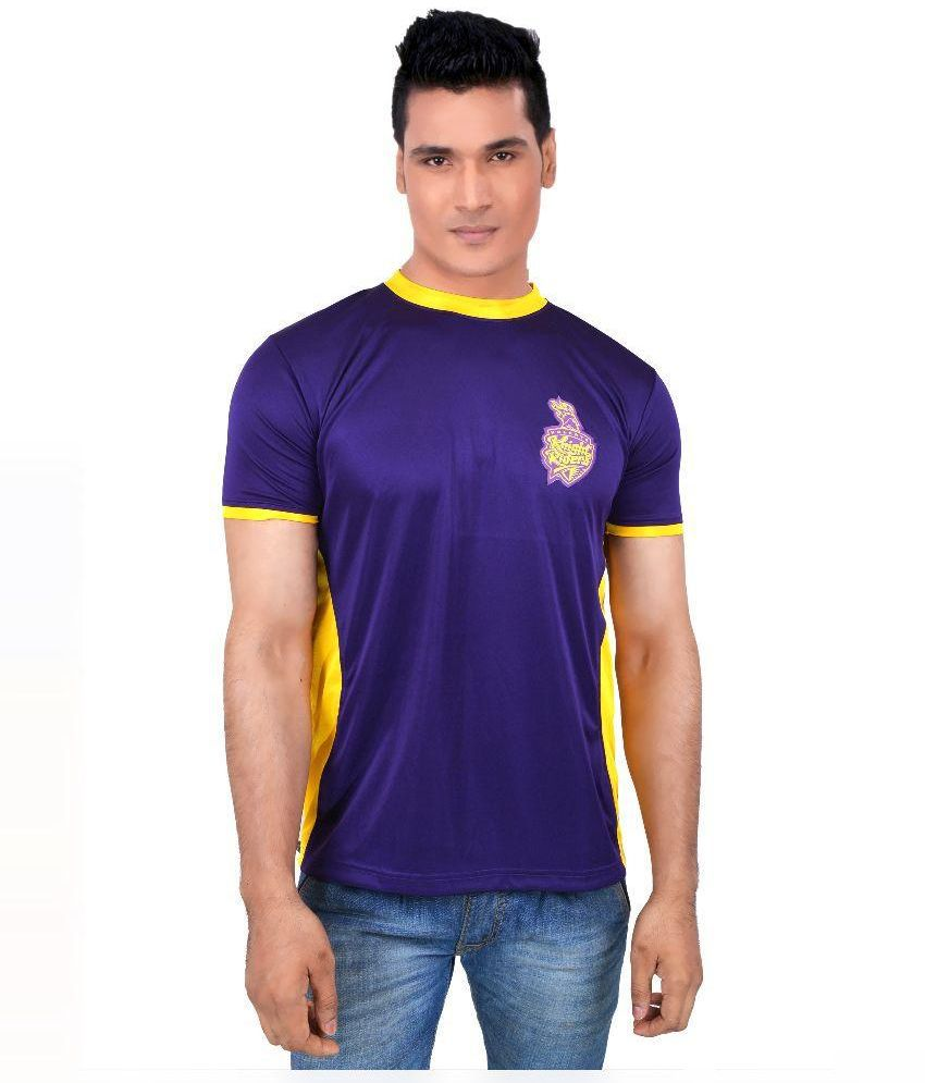 Kolkata Knight Riders Blue T Shirts