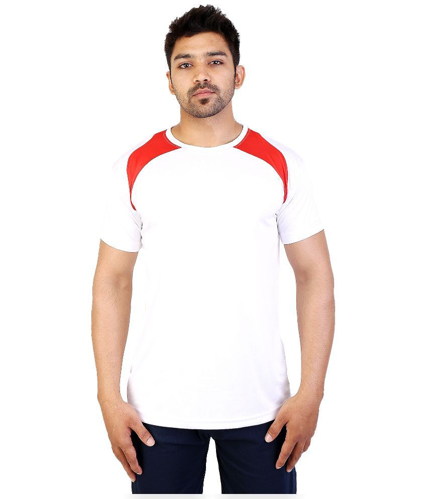 Obvio White Round T Shirt
