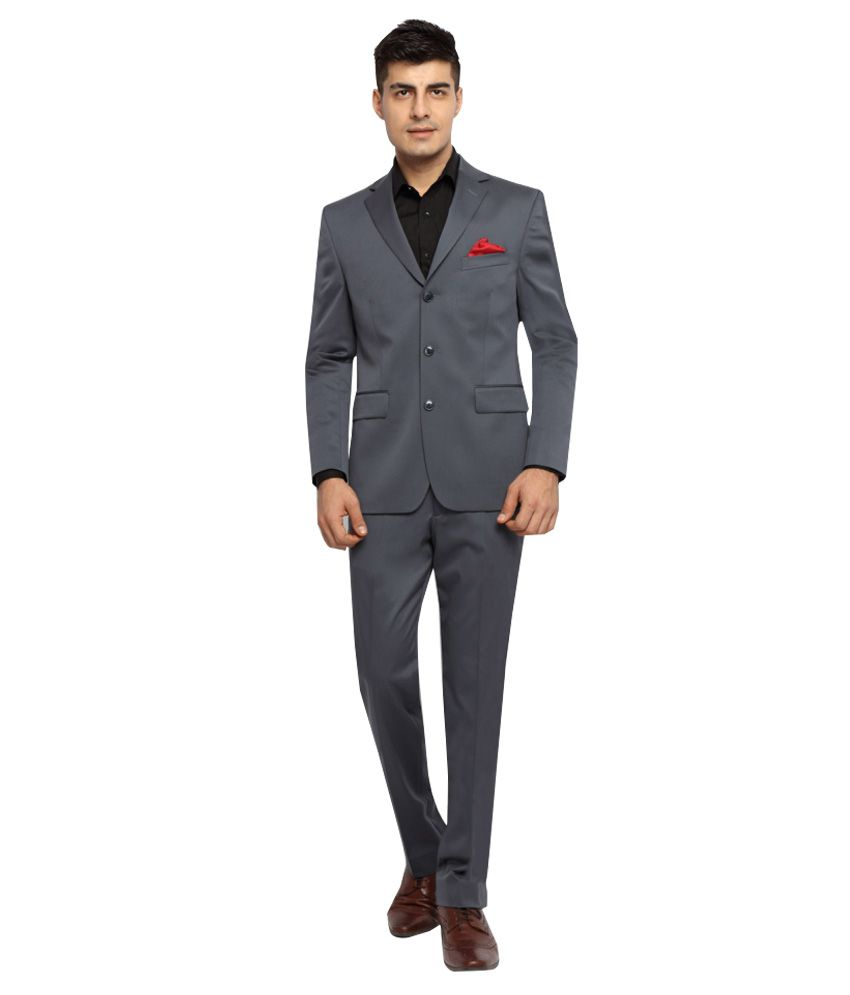 SUITLTD Grey Formal Suits