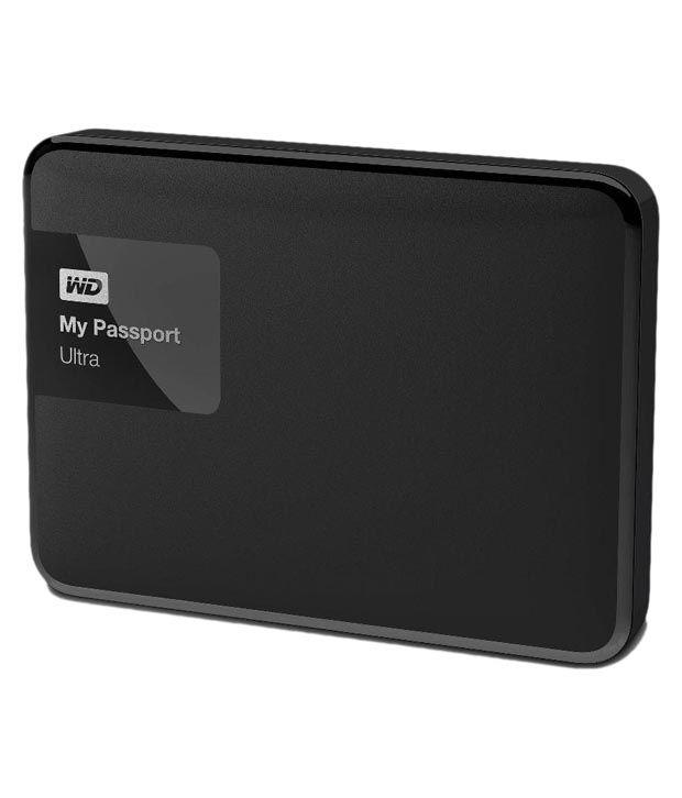 WD My Passport Ultra 1 TB Portable External Hard drive - Black