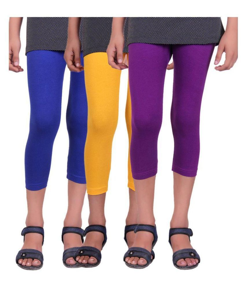 Alisha Multicolor Capris For Girls