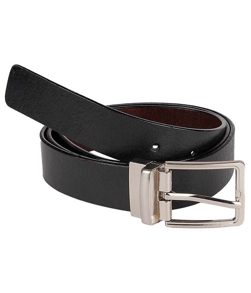 Kesari Black Leather Belt
