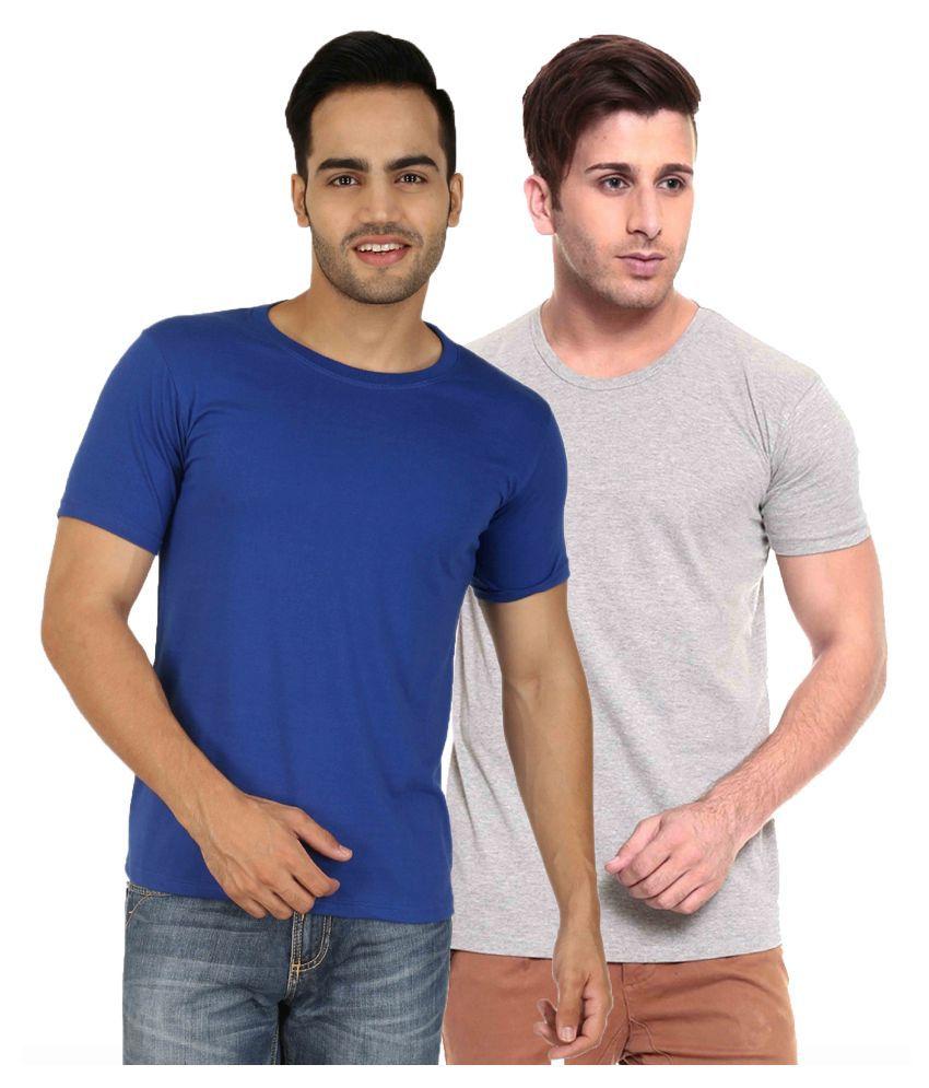 Nimya Multi Round T Shirt Pack of 2